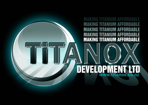 Titanox Development Ltd - Making Titanium Affordable